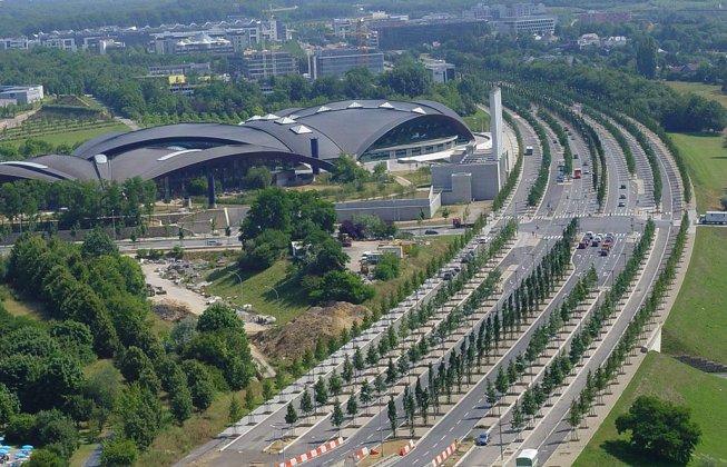 Kirchberg Luxemburg 1